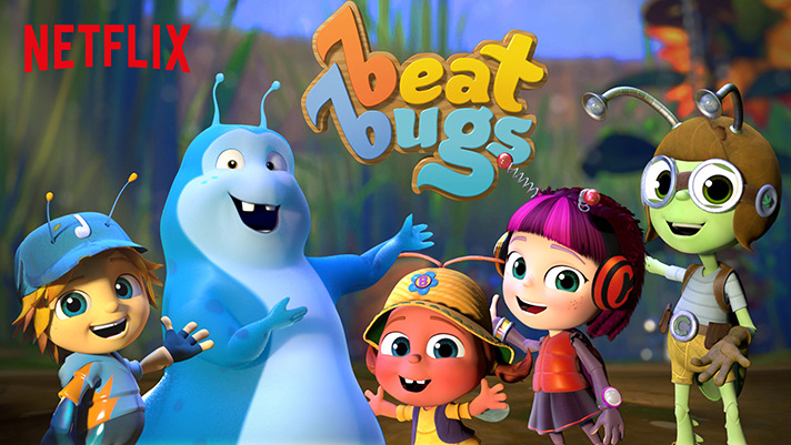 Beat Bugs, a Netflix Original, is inspired by music from The Beatles. - SahmReviews.com