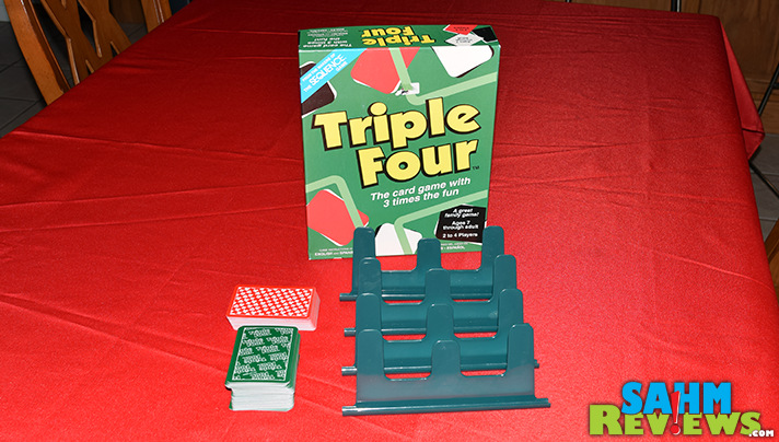 We've found quite a few by Jax Games that became favorites. This week it is Triple Four. Will it stay in the collection or get re-donated? - SahmReviews.com