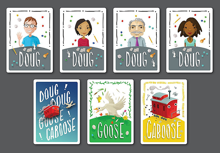 Doug Doug Goose Caboose is coming to Kickstarter this Fall! We got a chance to preview this Infectious Play game before its release! - SahmReviews.com
