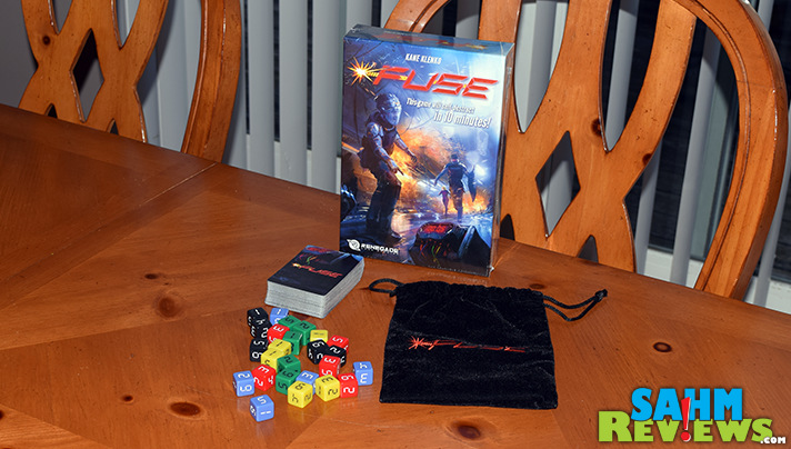 Some games are bombs, others have you diffusing them. Fuse by Renegade Game Studios is a fast-paced cooperative title perfect for all ages! - SahmReviews.com