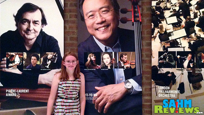 Our daughter was thrilled with the gift of tickets to see Yo-Yo Ma in Concert. - SahmReviews.com