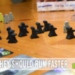 Run, Meeple, Run! Hit Z Road is an epic road trip where the goal is to survive the zombie meeples. - SahmReviews.com