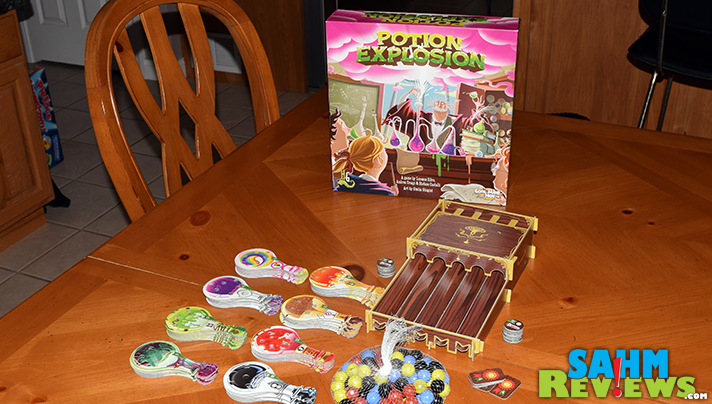 To say we were excited to try the new Potion Explosion from Cool Mini or Not is an understatement. We've been waiting for it since we saw the prototype! - SahmReviews.com