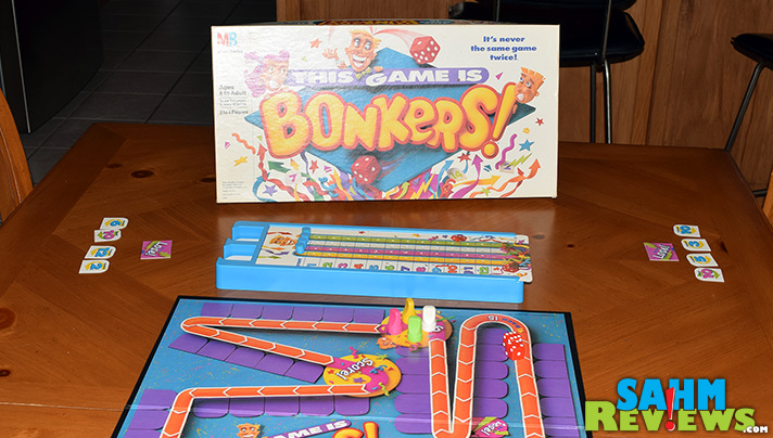 This 80's household staple was one that even my wife remembered. This Game is Bonkers! by Milton Bradley is now back in our collection! - SahmReviews.com