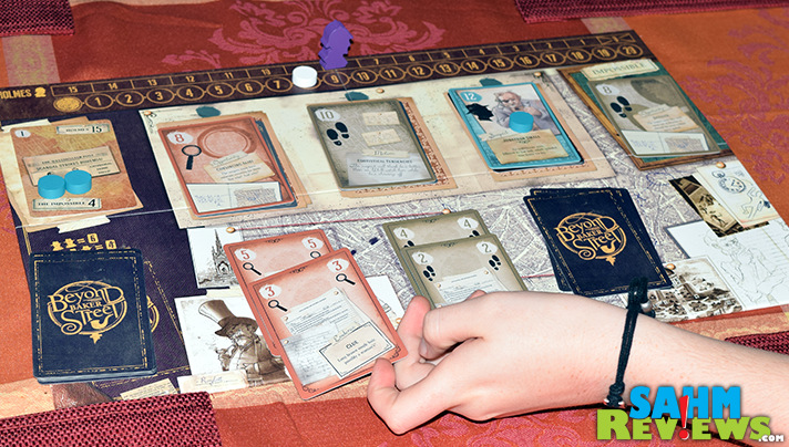 There's a new cooperative game in our game bag! Beyond Baker Street by Z-Man Games proves we can beat Sherlock Holmes at his own game! - SahmReviews.com