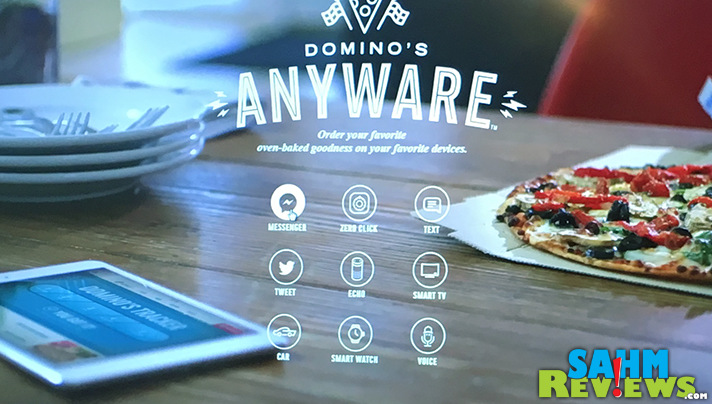 Domino's Anyware and technology have made ordering pizza ridiculously easy. - SahmReviews.com