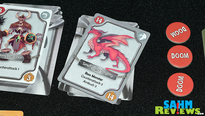 If you're tired of the MtG game and spending too much on packs, AEG's Fantahzee: Hordes & Heroes is probably a great solution! - SahmReviews.com
