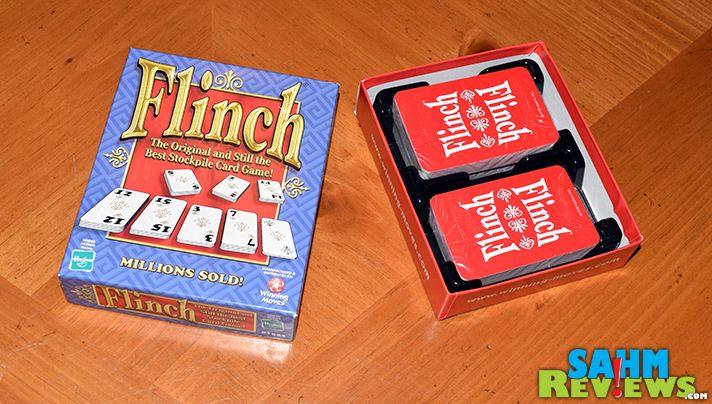 We may have already had a clone, but really wanted to have an original version of the game we played as kids. This week we finally found Flinch! - SahmReviews.com
