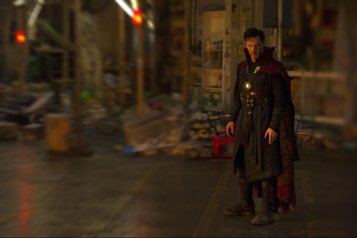 Benedict Cumberbatch stars in Marvel Studios' upcoming film DOCTOR STRANGE. - SahmReviews.com