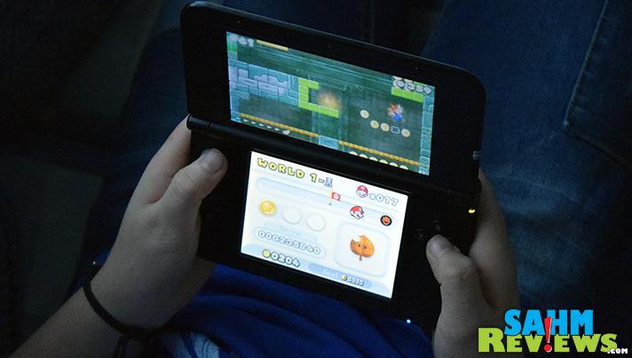 Mario, coins, jumping, dungeons and more. Super Mario Bros 2 for the Nintendo 3DS XL. - SahmReviews.com