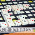 We bought this week's Thrift Treasure just because it had cool dice. Turns out Showdown Poker wasn't a half-bad game after all! - SahmReviews.com