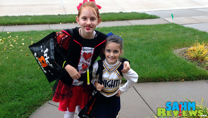 Use technology to let your kids trick-or-treating parentless this Halloween. - SahmReviews.com