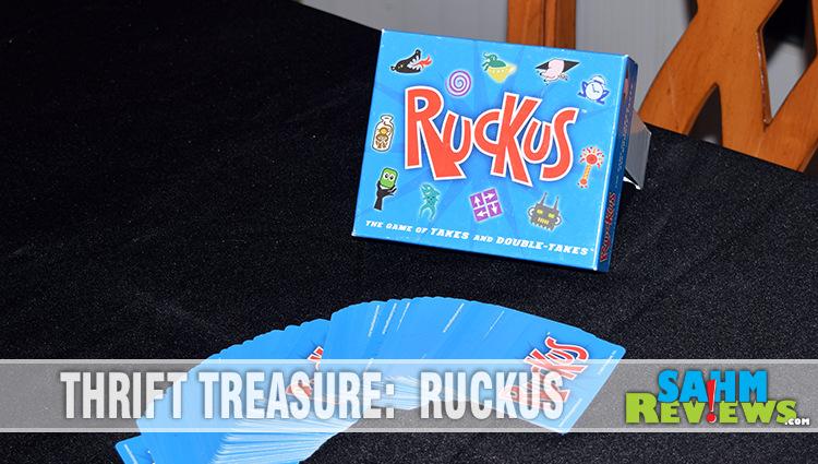 Thrift Treasure: Ruckus