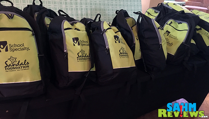 Sandals Foundation has a variety of initiatives supporting the communities home including reading encouraging guests to Pack for a Purpose. - SahmReviews.com