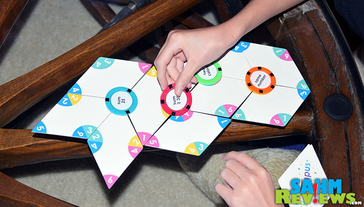 Direct from the designer, Skiwampus scratched the itch we have for abstracts, puzzles and math. Any game that is educational and fun is a winner for us! - SahmReviews.com