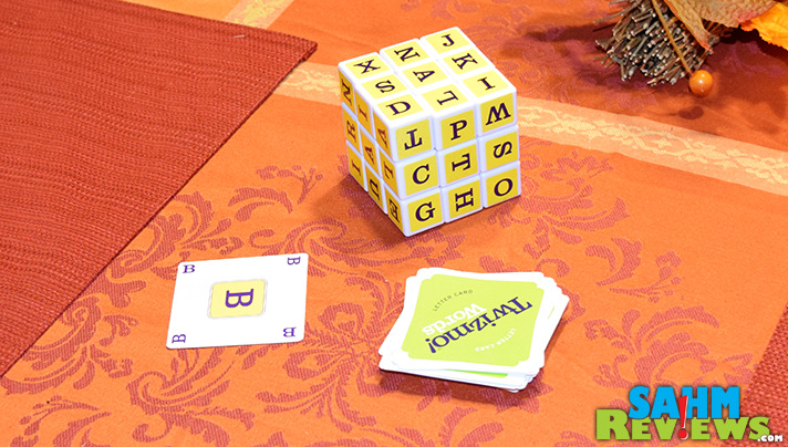 Twizmo Words by Twizmo Games puts a spin on word games where you won't see the same combos show up each game. - SahmReviews.com
