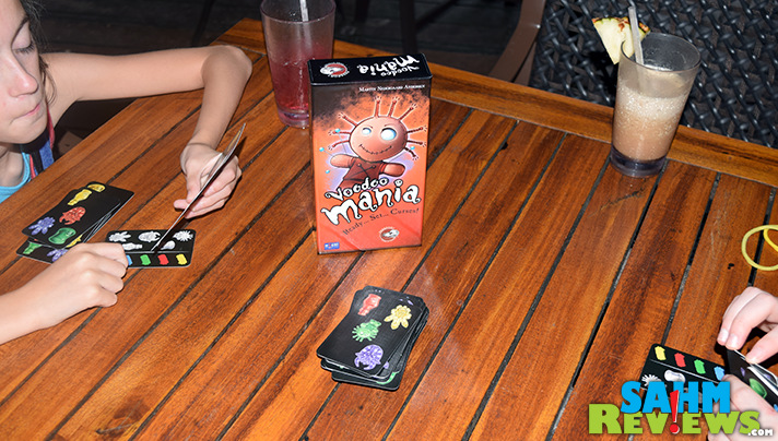 We learned from our last trip and came prepared for the rain with Passport Game Studios' Voodoo Mania! Even better since our trip was to Jamaica! - SahmReviews.com