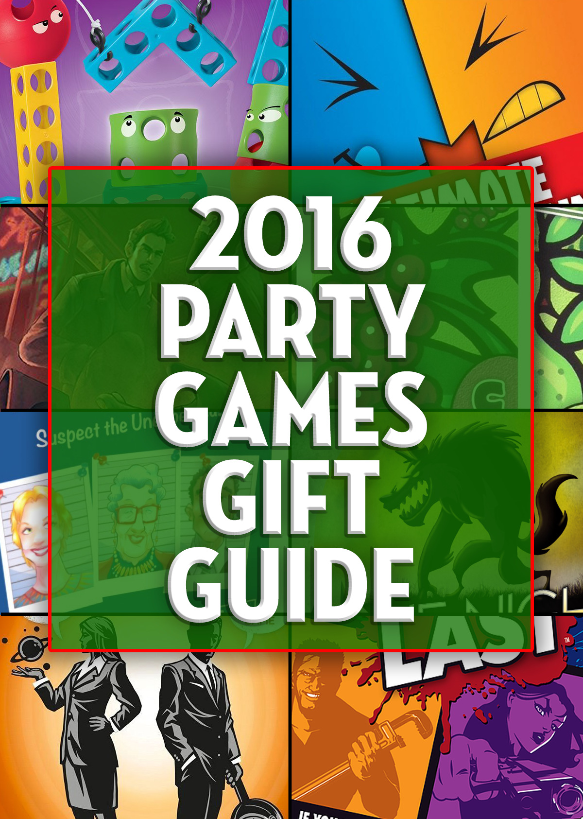 Finding good games for your next party can be difficult. Check out our 2016 Party Games Gift Guide for a dozen games that support large groups! - SahmReviews.com