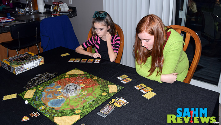 Castle Panic by Fireside Games was the first cooperative game I had ever played. And now we're solid fans of the genre and anxiously await more expansions! - SahmReviews.com