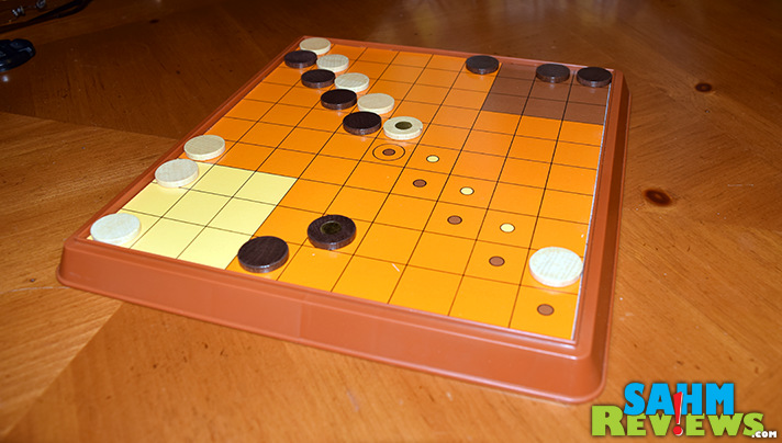 This week's Thrift Treasure falls into our favorite game category - abstracts! Check out this vintage 1970's Parker Brothers title - Outwit! - SahmReviews.com