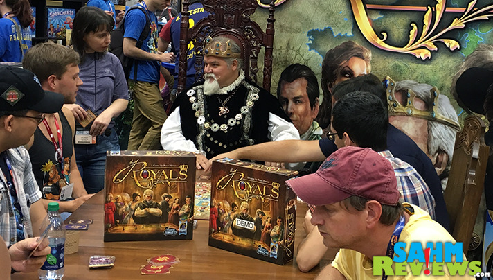 We were asked what we recommended for a game purchase after Ticket to Ride. Our answer was Royals by Arcane Wonders - should it be your next one? - SahmReviews.com