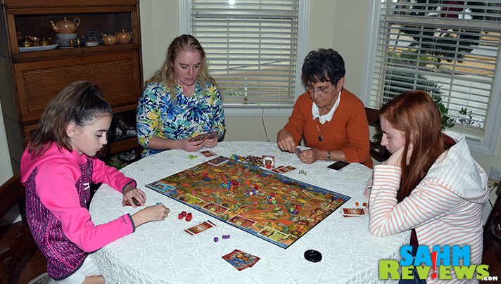 After a bit of a wait, Calliope Games' Running With the Bulls has finally arrived on the shelves! Read more to see if it was worth the wait! - SahmReviews.com