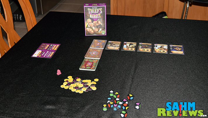 This small-box game packs a LOT into such a tiny space. Today we're taking a look at Thief's Market by Tasty Minstrel Games! - SahmReviews.com