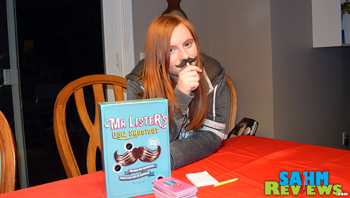 Mister Lister's Quiz Shootout is like a party trivia game that feels like a game show in a box. - SahmReviews.com