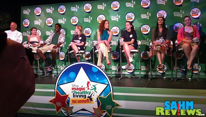 Magic of Healthy Living Panel at Disney Social Media Moms Celebration. - SahmReviews.com