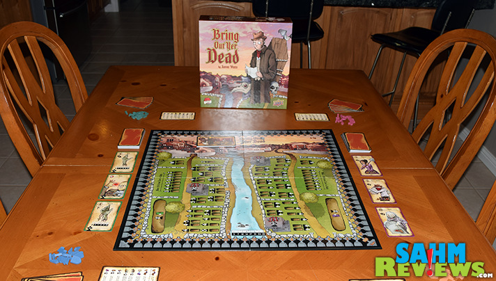 It's a topic most don't want to discuss, but Upper Deck found a way to make it humorous! Check out their newest game, Bring Out Yer Dead! - SahmReviews.com