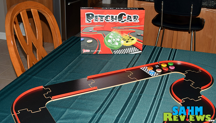 We first played Eagle-Gryphon Games' Pitch Car at last year's Geekway to the West convention. Now we try it out at home - what did we think? - SahmReviews.com