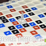Boggle was one of my family's favorite games growing up. Never knew there was a different version, Boggle Bowl, until we found one at Goodwill! - SahmReviews.com