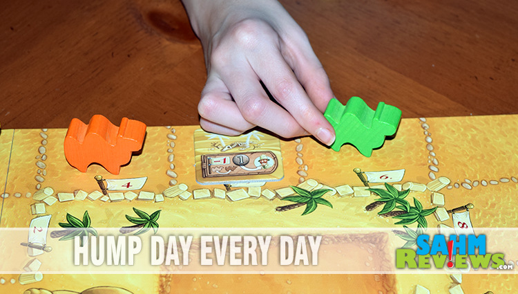 Camel Up Board Game Overview