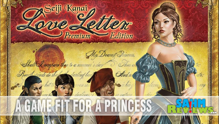 Love Letter Premium Edition Card Game Overview