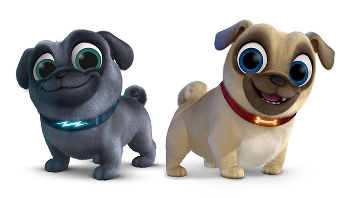 Meet the pups of Puppy Dog Pals and join us for an exclusive Q&A with the team behind them. - SahmReviews.com #Cars3Event #PuppyDogPalsEvent
