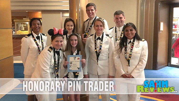 Pin Trading on Disney Cruise Line