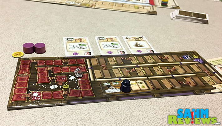 Invest in the right companies to be the victor! With multiple paths to score, Mombasa board game from R&R Games is good for a variety of play styles. - SahmReviews.com