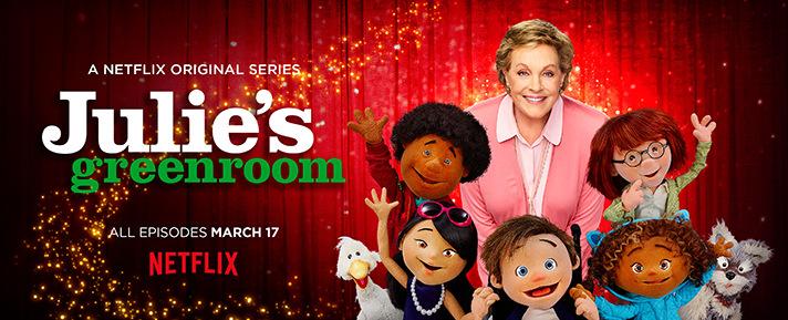 Introduce kids to female role models on Netflix with shows like Julie's Greenroom. - SahmReviews.com