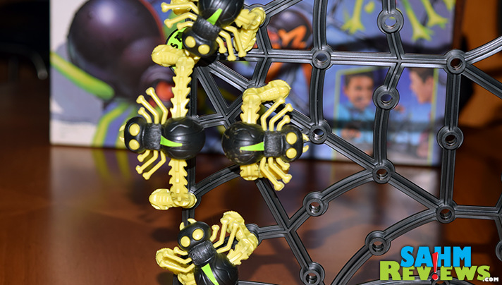 As long as you don't suffer from arachnophobia, this week's Thrift Treasure might be a good abstract for your family. Check out Spider Wars! - SahmReviews.com