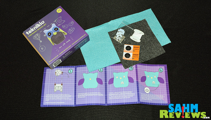 Teknikio integrates technology into craft projects with their Fabtronic Sewing Set. - SahmReviews.com