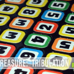 Tribulation looked like another 80's-era abstract game. Turns out it is also a refresher course in basic math. And not boring! - SahmReviews.com