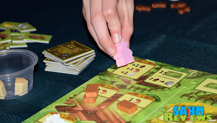 Agricola Family by Mayfair Games is a great gateway worker placement game. - SahmReviews.com