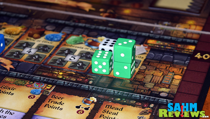 Final Frontier Games has a solid dice-based worker placement game in Cavern Tavern. - SahmReviews.com