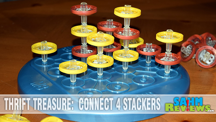 Thrift Treasure: Connect 4 Stackers