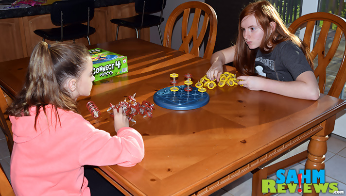 Yet another title from the Connect 4 world, Connect 4 Stackers takes the game to a whole new dimension. Read about it in this week's Thrift Treasure! - SahmReviews.com