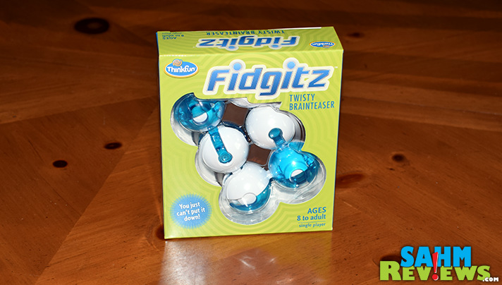 Last year's fad was the Fidget Cube. This year ThinkFun gives you something to work towards with the Fidgitz puzzle. Can you solve it? - SahmReviews.com