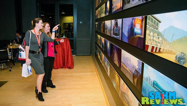 Galleries of images from unreleased movies: Another Easter Egg and cool feature discovered during our Pixar campus tour! - SahmReviews.com #Cars3Event