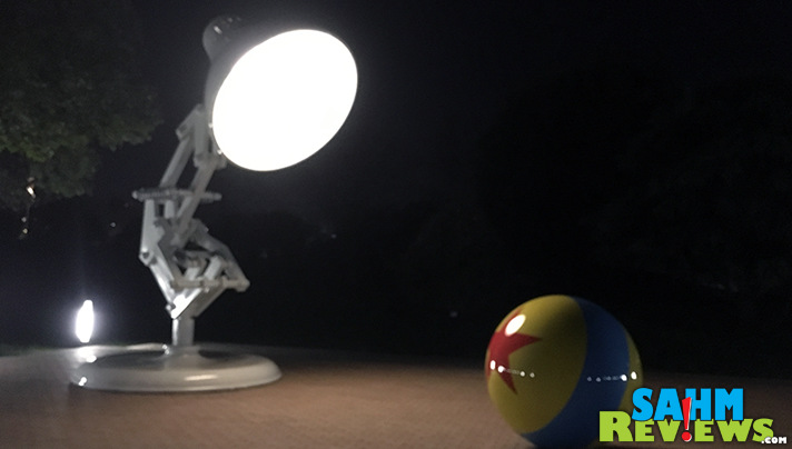 The Luxo Jr lamp on the Pixar campus lights up! - SahmReviews.com #Cars3Event