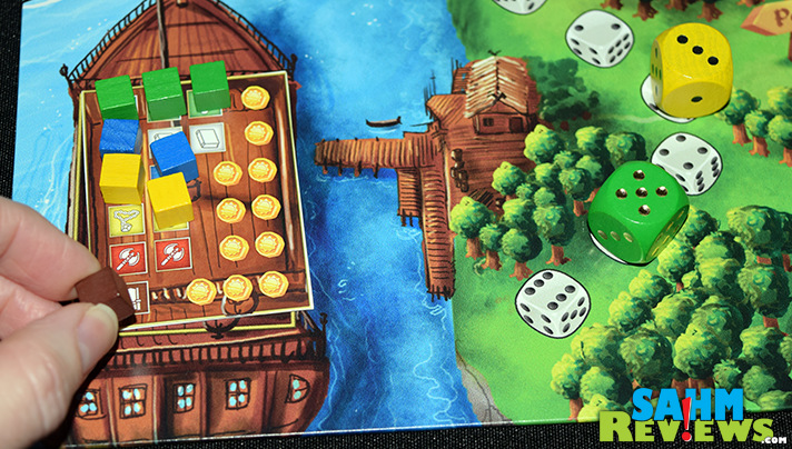 Final Frontier Games has a solid dice-based worker placement game in Cavern Tavern with Rise to Nobility rolling out soon via Kickstarter - SahmReviews.com