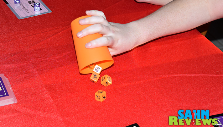 A combination of luck and quick rolling are needed to win Ta-Da! dice game from Cool Mini or Not. - SahmReviews.com